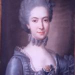 Portrait de madame d'Ortaffa, pastel signé Comte de saint Michel, coll. Part.