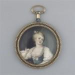 Montre avec portrait en médaillon, RMN, Musée de Perpignan.