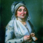 Portrait de Roussillonnaise vers 1800, collection particulière, Perpignan.
