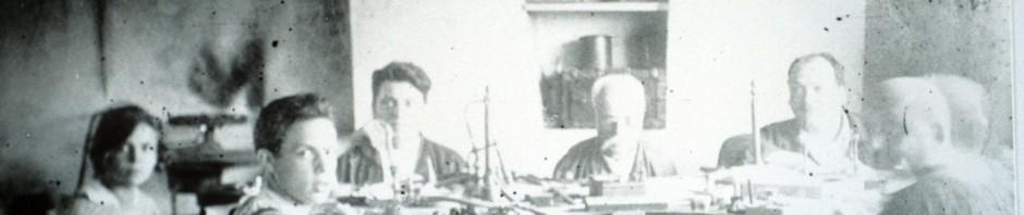 Atelier de Grenats de Perpignan vers 1900