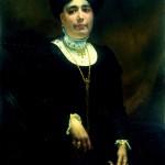 Louis Delfau, portrait de femme, Perpignan, 1911.
