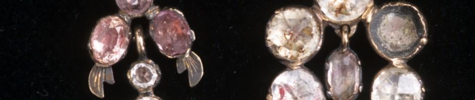 Boucles d'oreilles catalanes, Roussillon, 1ere moitié du XIXe s.