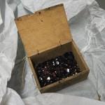 Boite de grenats taille Perpinyà anciens