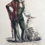 Roussillonnais, gravure de Loubon vers 1840