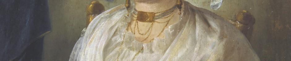 JACQUES GAMELIN, Portrait de femme, Musée de Narbonne.