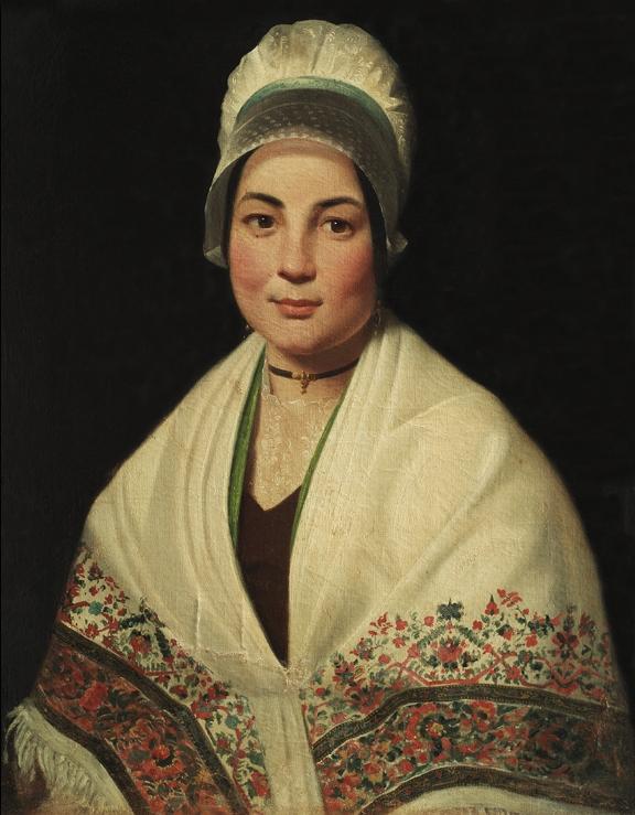 Jeune Catalane, Casa Pairal, Perpignan, vers 1840.