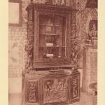 meuble pésentant les bijoux réalisés à Perpignan