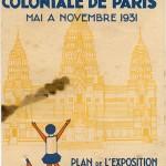 Représentation du pavillon de l'Inde, Exposition coloniale1931