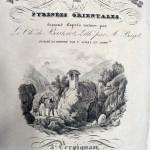 Frontispice de Voyages aux hermitages du Chevalier de Basterot