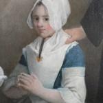 Jeune fille en costume de Narbonne, vers 1770-1780.