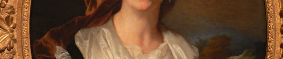 Portrait de Maria Serra, mère de H.Rigaud, 1695.