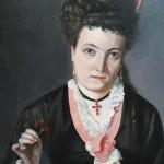 Jeune Catalane à la croix en grenats, Perpignan, collection particulière, vers 1875.