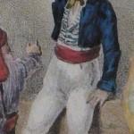Roussillonnais en habit de ville, vers 1830.