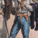 Moissonneur du Roussillon vers 1830.