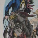Mariage roussillonnais: le marié vers 1830.