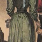 Costume de demoiselle, Perpignan, vers 1830.