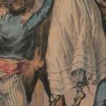 Costume de roussillonnaises lors du saut (danse typique), vers 1830.