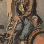 Habillement masculin en Roussillon vers 1830.
