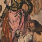 Costume de Roussillonnaise, vers 1830.