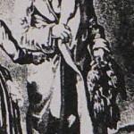 Paysan roussillonnais en cape, vers 1830.