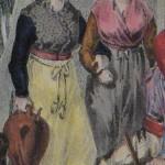Costume de Cerdagne et du Roussillon, vers 1830.