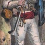 Jeune moissonneur roussillonais, vers 1830.
