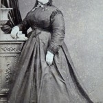 Retrat de senyora, aprop de 1868, fotografia milanese Antonio Rodamilans.