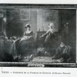 Gamelin, la famille du peintre, fin du XVIIIe s.