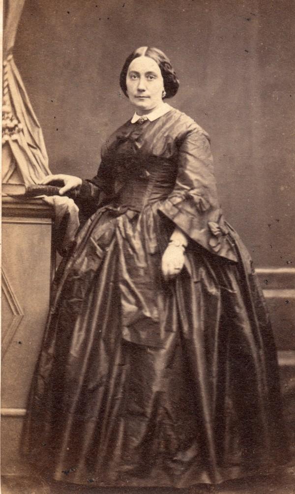 Portrait photographique Cabibel, Perpignan, Second Empire.