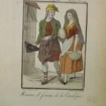 Homme et femme de la Catalogne