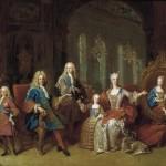 La famille de Philippe V d'espagne par Jean Ranc.