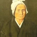 femme portant la coiffe narbonnaise, peinture de Arribaud 1883.