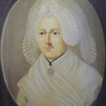 Portrait de donatrice, fin XVIIIe s.