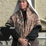 Portrait de Roussillonnaise en caputxa blanche