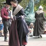 Présentation des costumes anciens