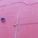 Peinture fraiche sur le Grenat de l'archipel de Perpignan