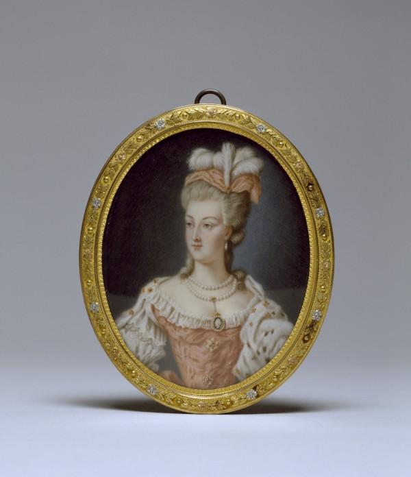 Portrait de Marie-Antoinette, reine de France, 1778.