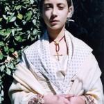 Jeune Catalane en costume vers 1815