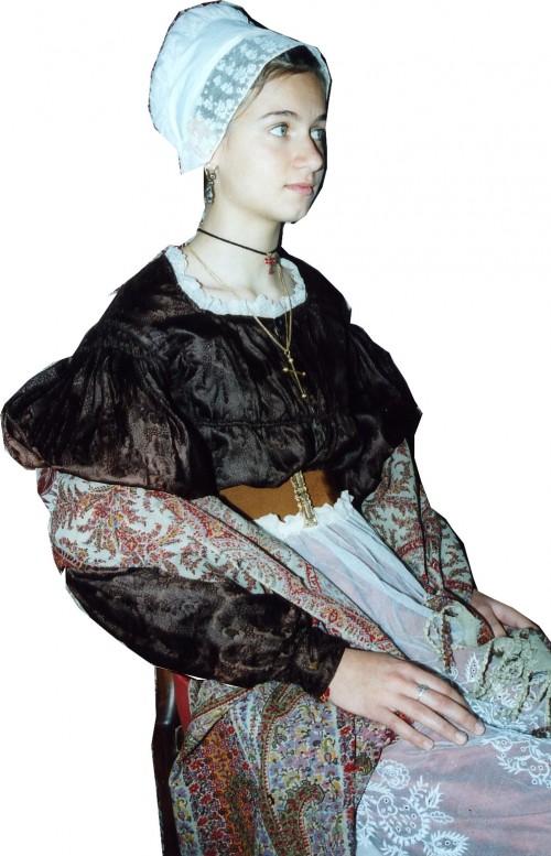 Roussillonnaise vers 1835