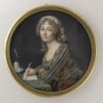 Madame Doucet de Surigny, portrait de femme fin du XVIIIe s., base RMN.