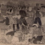 fresque de la Font del Gat, Perpignan.