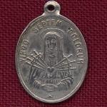 médaille de Notre Dame des sept douleurs