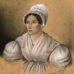 Mathieu, 1834, portrait de Roussillonnaise