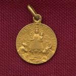 médaille du couronnement de la Vierge de Font Romeu