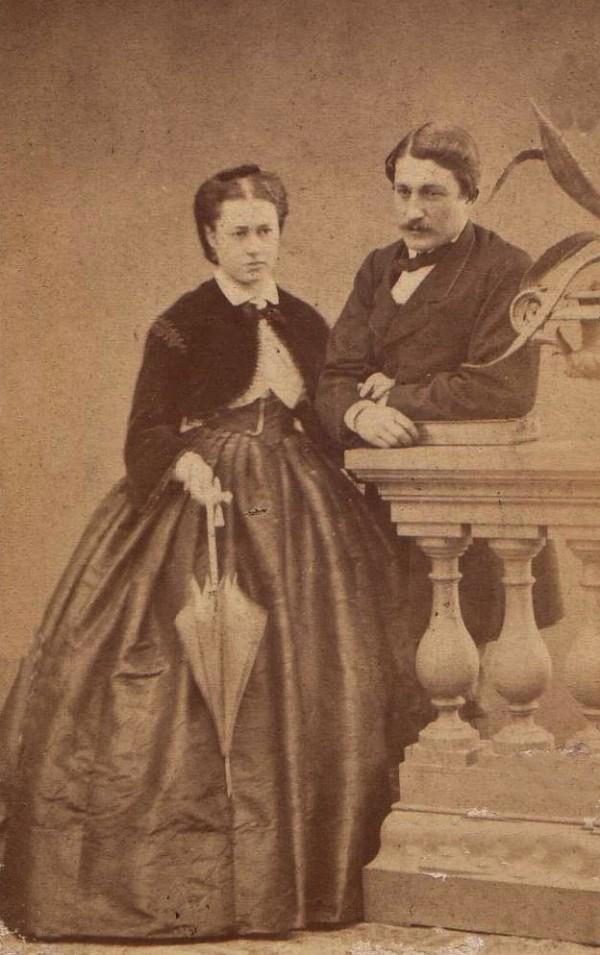 photo Jacob, Perpignan, couple de Roussillonnais