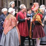 A day dedicated to regional and historical costumes