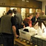 Visite du musée de l'atelier de restauration de Vallendar.