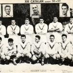 XIII catalan: Champions de France saison -56-57-, Finalistes de la coupe