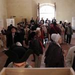 Visite des expositions à la Funeraria, st Eloi 2011, Perpignan.