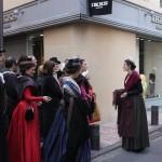 Visite costumée rue de l'Argenterie